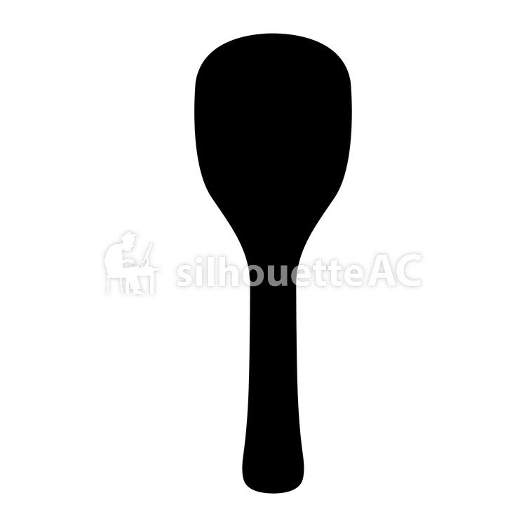 750x750 Free Silhouette Vector Rice, Rice Paddle