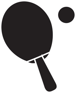 246x300 Ping Pong Paddle Clipart Image
