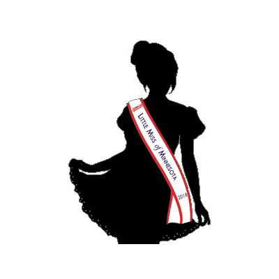 400x400 American Pageants Little Miss Local Sash