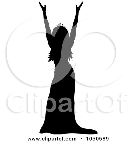 Pageant Silhouette At Getdrawings Com Free For Personal Use