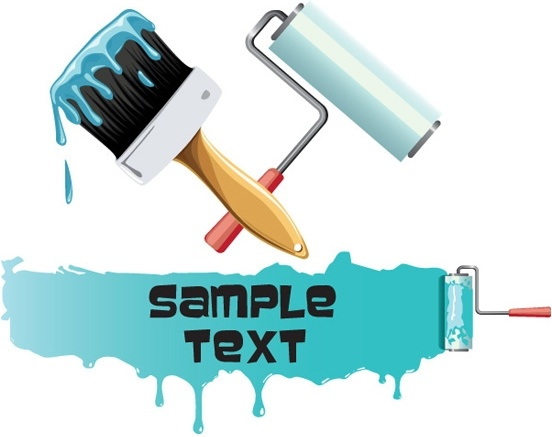 552x437 Painting Paint Brushes Vector Free Vector In Encapsulated