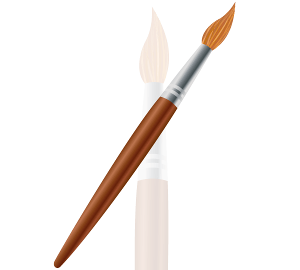 600x540 Free Paint Brush Vector Image 123freevectors