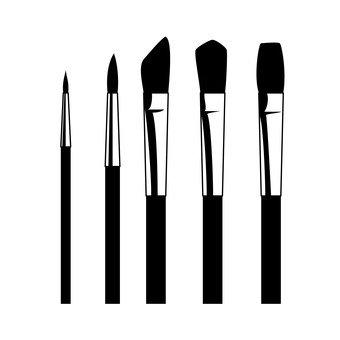 340x340 Free Silhouette Vector Art, Icon, Art