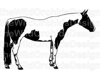 340x270 Paint Horse Sticker Etsy