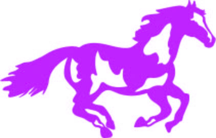 422x269 Running Paint Horse Silhouette Clip Art Svg Instant Download