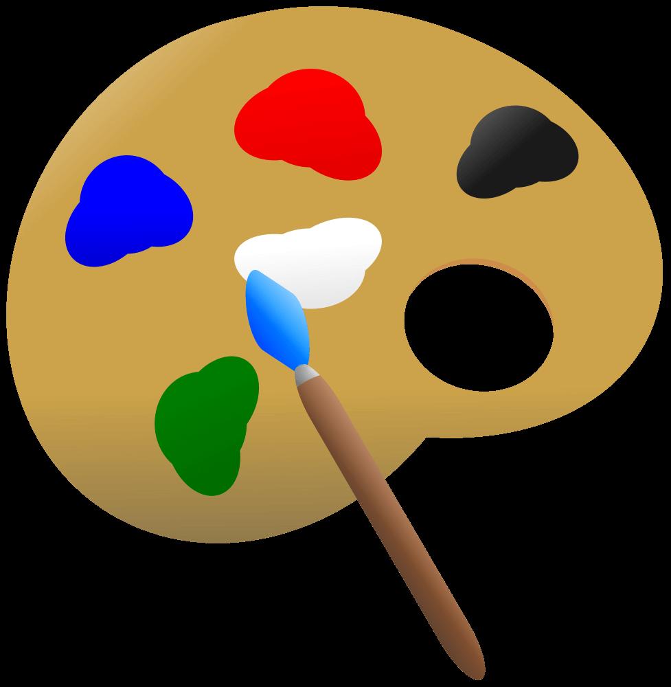 977x1000 Paint Palette