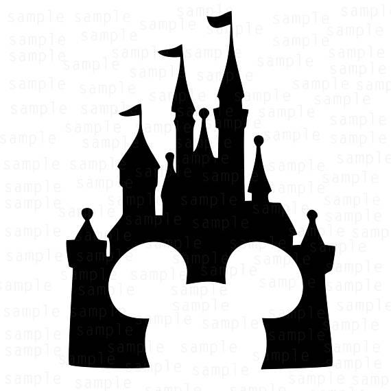 570x570 Castle Disney Svg Mickey Castle Svg Download Files Svg