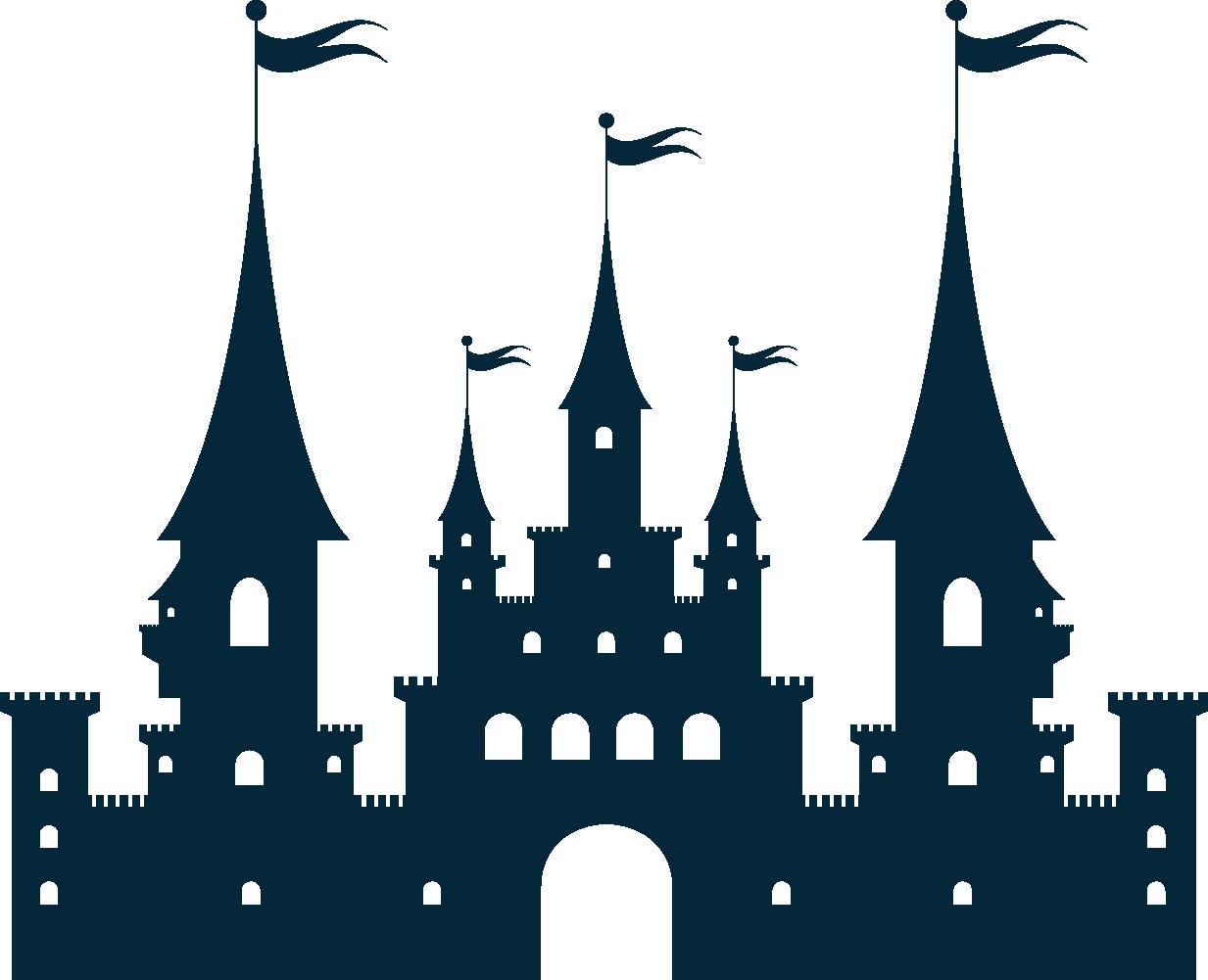 1233x1001 Castle Silhouette Clip Art