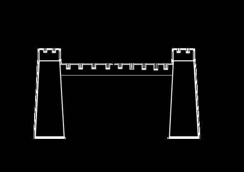 500x353 Castle Silhouette Public Domain Vectors