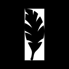 263x262 Free Svg Pdf Png Jpg Eps Palm Leaf Silhouette Cricut