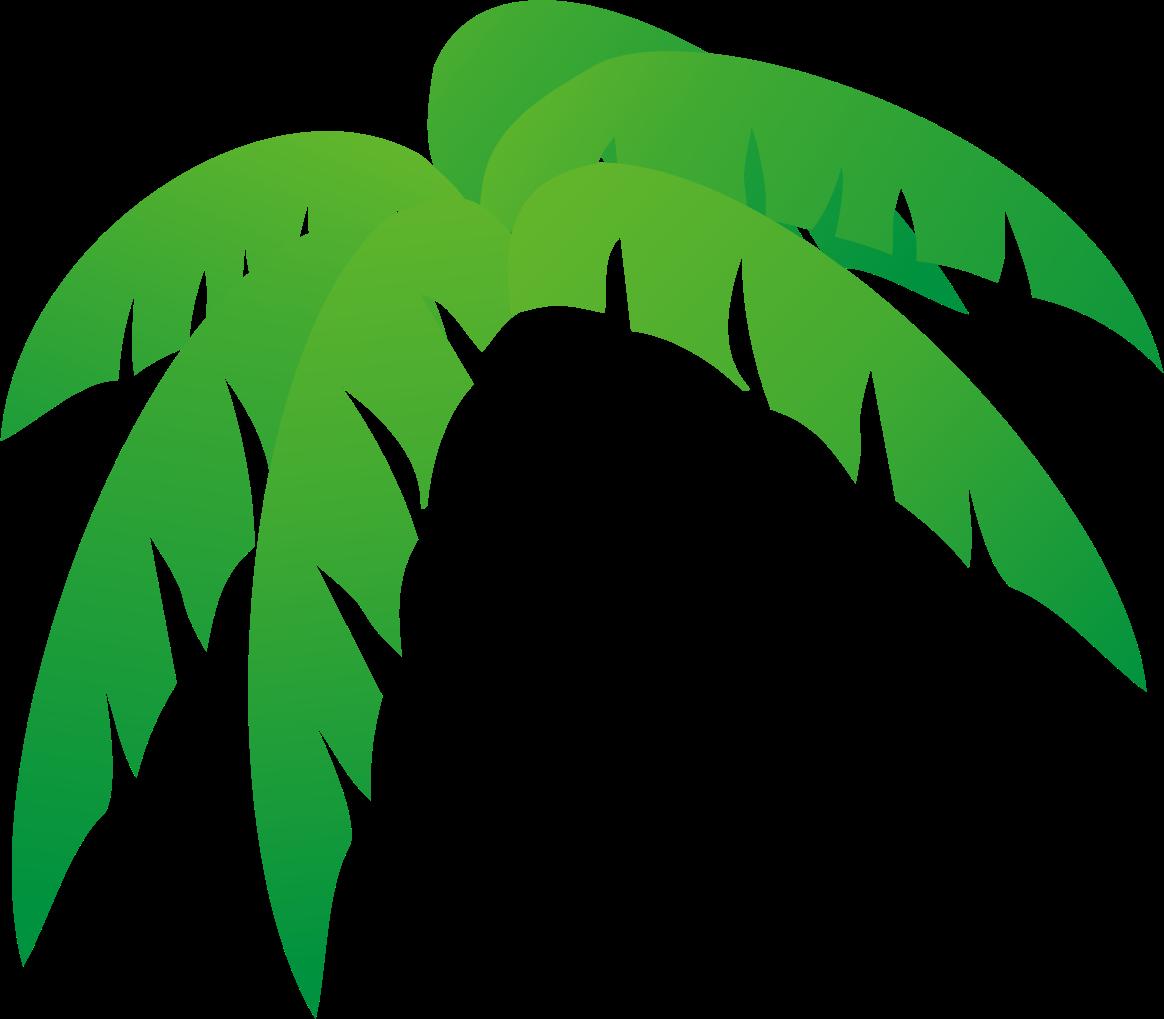 1164x1019 Palm Leaf Clipart