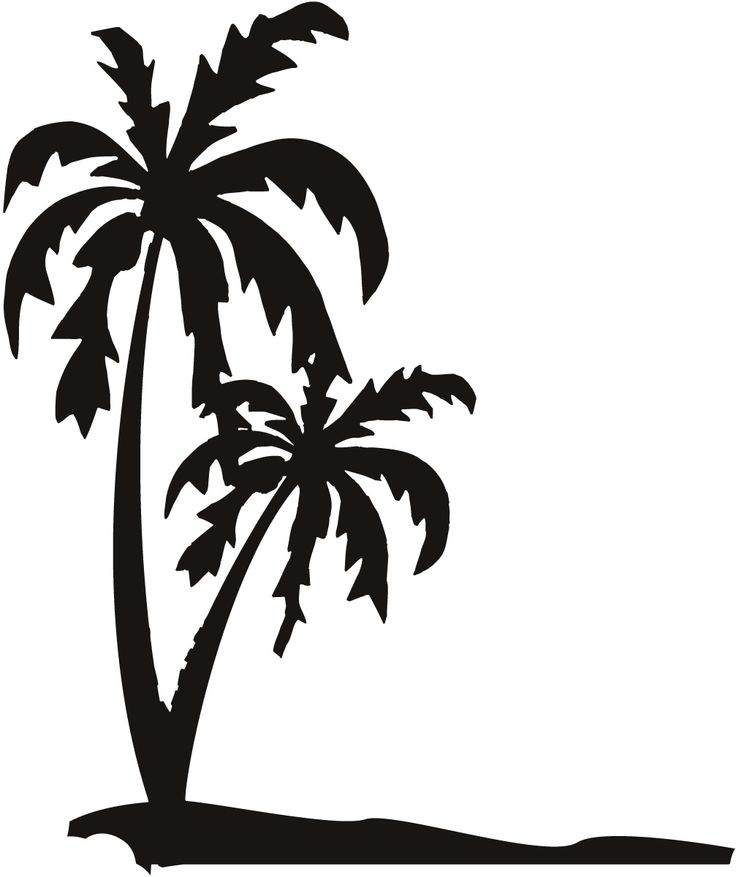 palm tree silhouette at getdrawings com free for personal use palm rh getdrawings com free palm tree clipart vector free palm tree leaf clipart