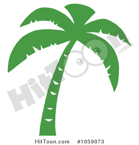 450x470 Palm Tree Clipart