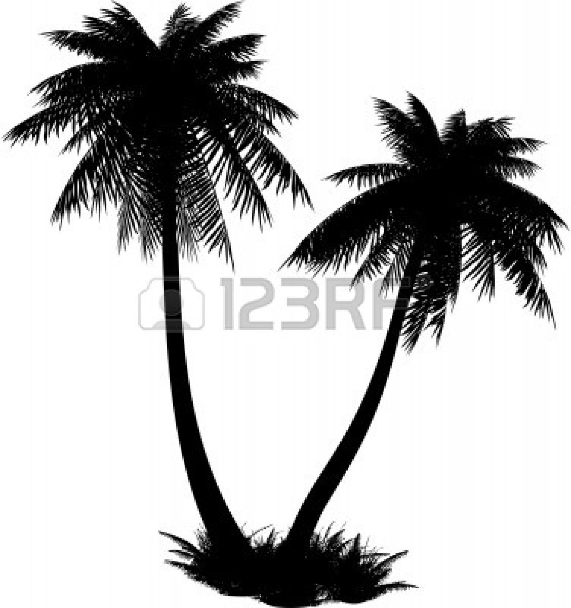 1128x1200 19 Palm Tree Silhouette Vector Art Free Images