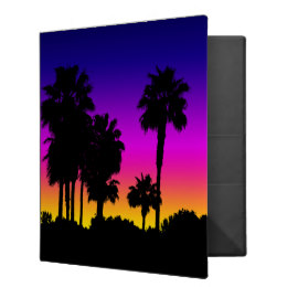 260x260 Palm Binders, Custom Palm Binder Designs, 3 Ring Binders
