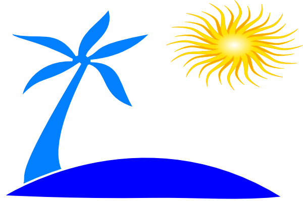 600x398 Sunset Clipart Beach Background