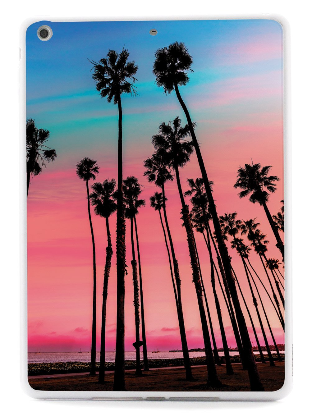 1004x1339 California Sunset Palm Trees Case Inspiredcases