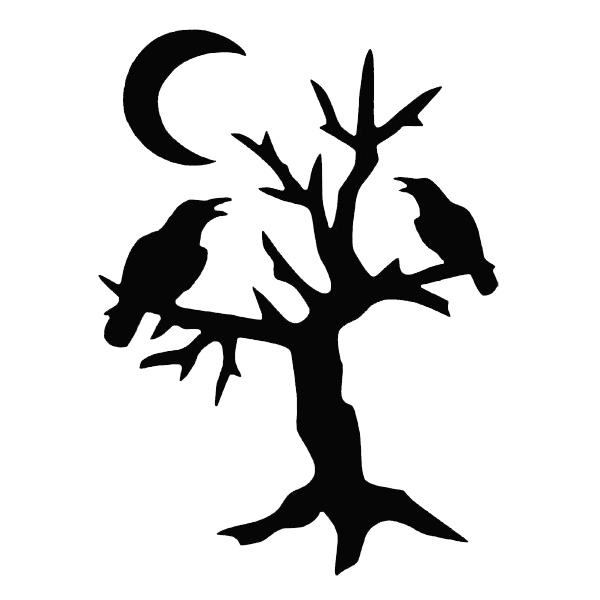 600x600 Wonderful Halloween Tree Tattoos Designs And Ideas