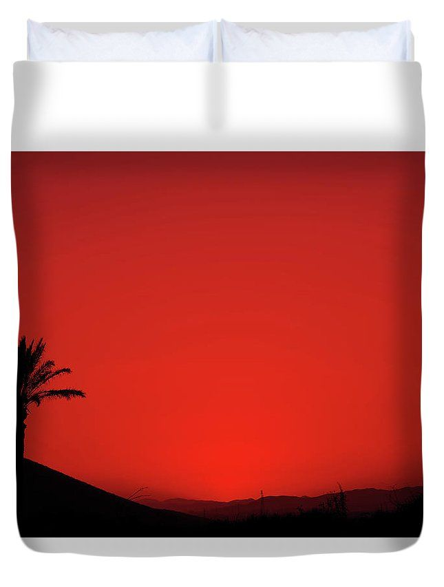 645x853 Anna Maloverjan Duvet Cover Featuring The Photograph Red