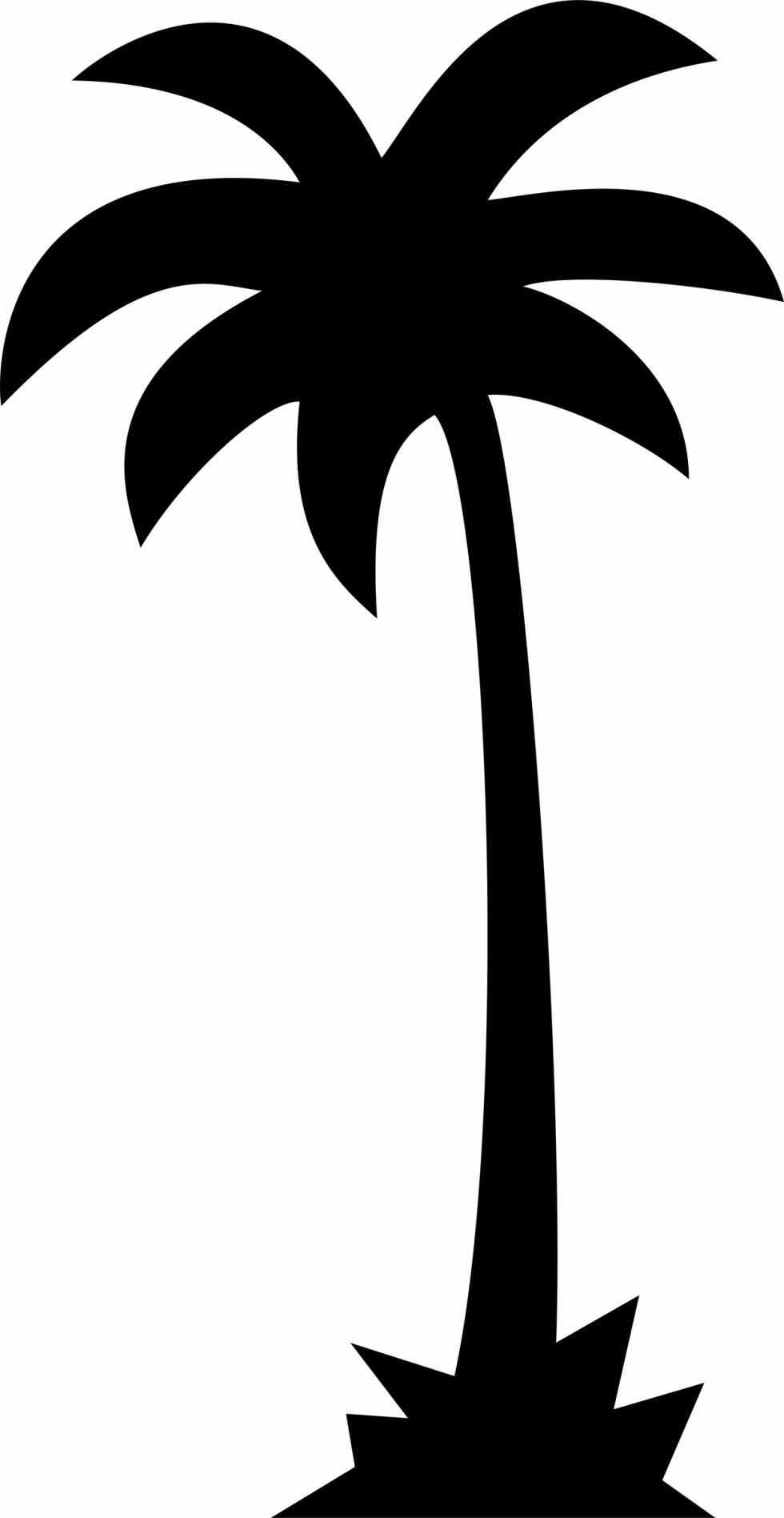 palm tree vector silhouette at getdrawings com free for personal rh getdrawings com palm tree vector art free download palm tree leaf vector art