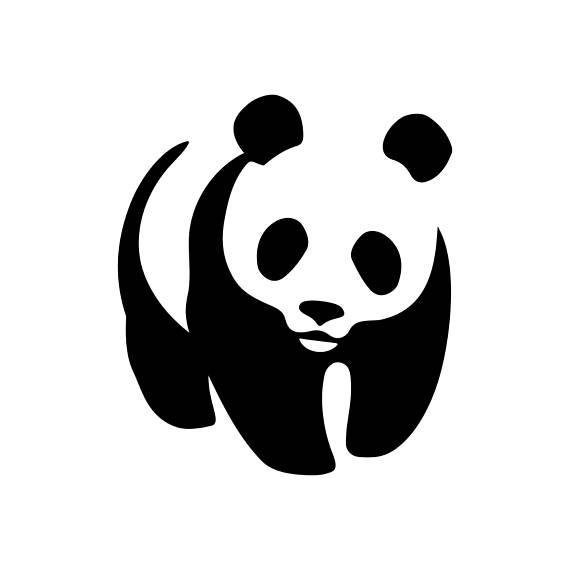 panda silhouette at getdrawings com free for personal use panda rh getdrawings com panda clipart for kids panda clipart lent