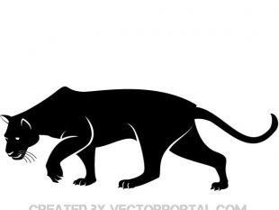 panther silhouette at getdrawings com free for personal use
