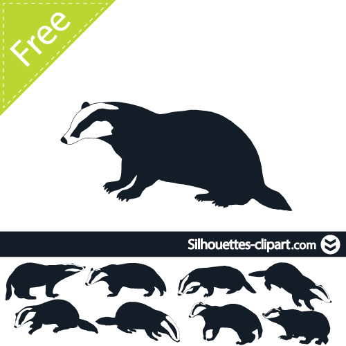500x500 Panther Clipart Badger