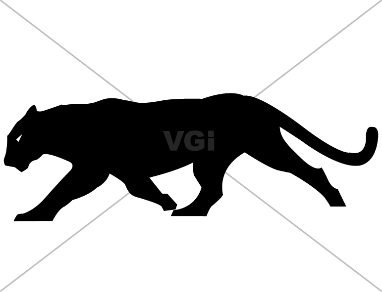 771x591 Panther Silhouette Clipart