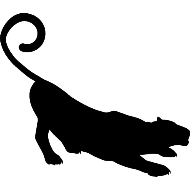 panther silhouette clip art at getdrawings com free for personal rh getdrawings com free panther clipart images free clip art panther paw print
