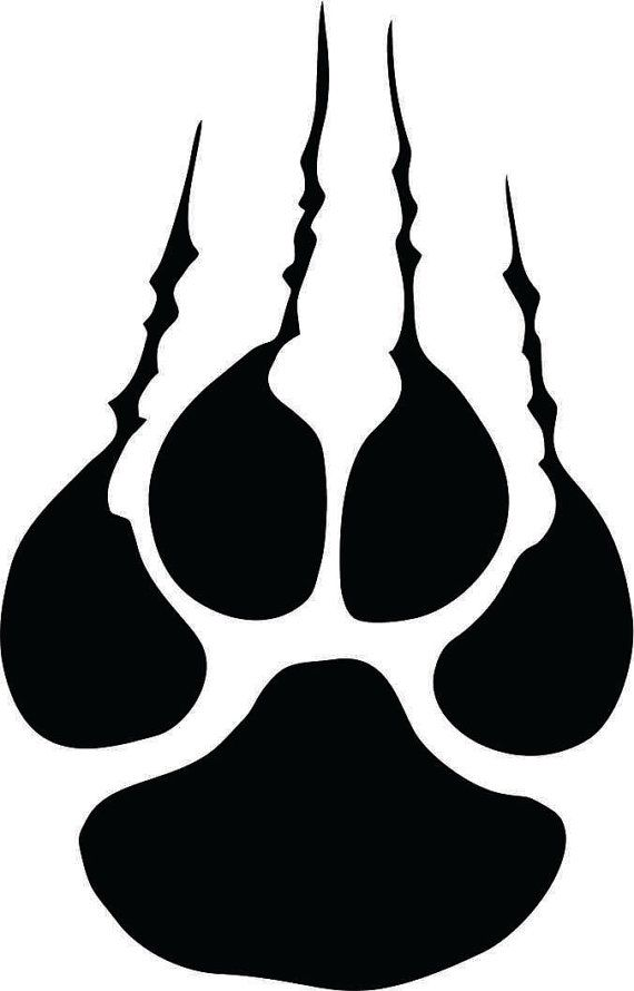 570x890 Panther Wildcat Tiger Claw With Tare Marks Instant Digital
