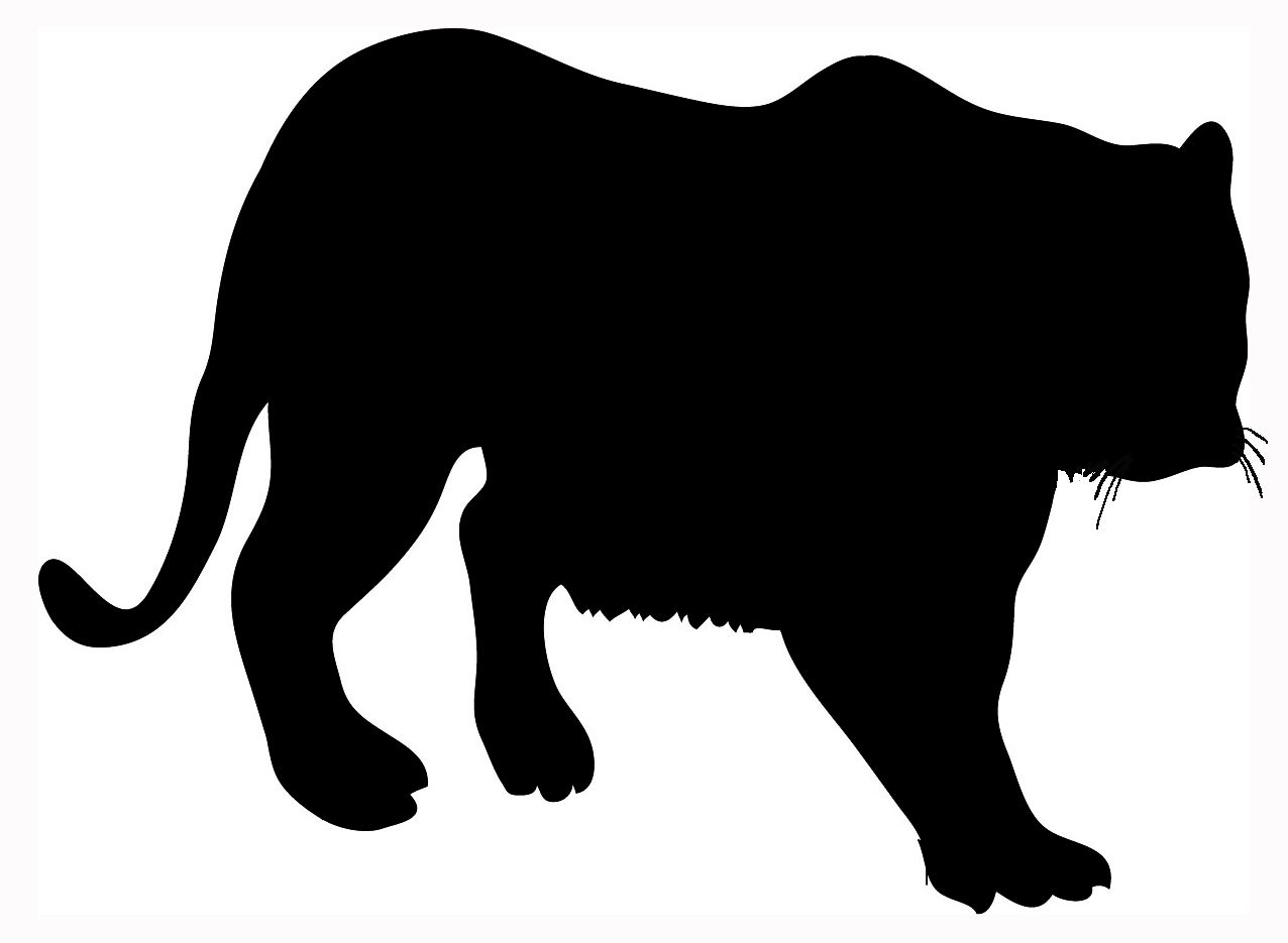 1276x935 Image Files Animal Silhouette Tiger Big.jpg
