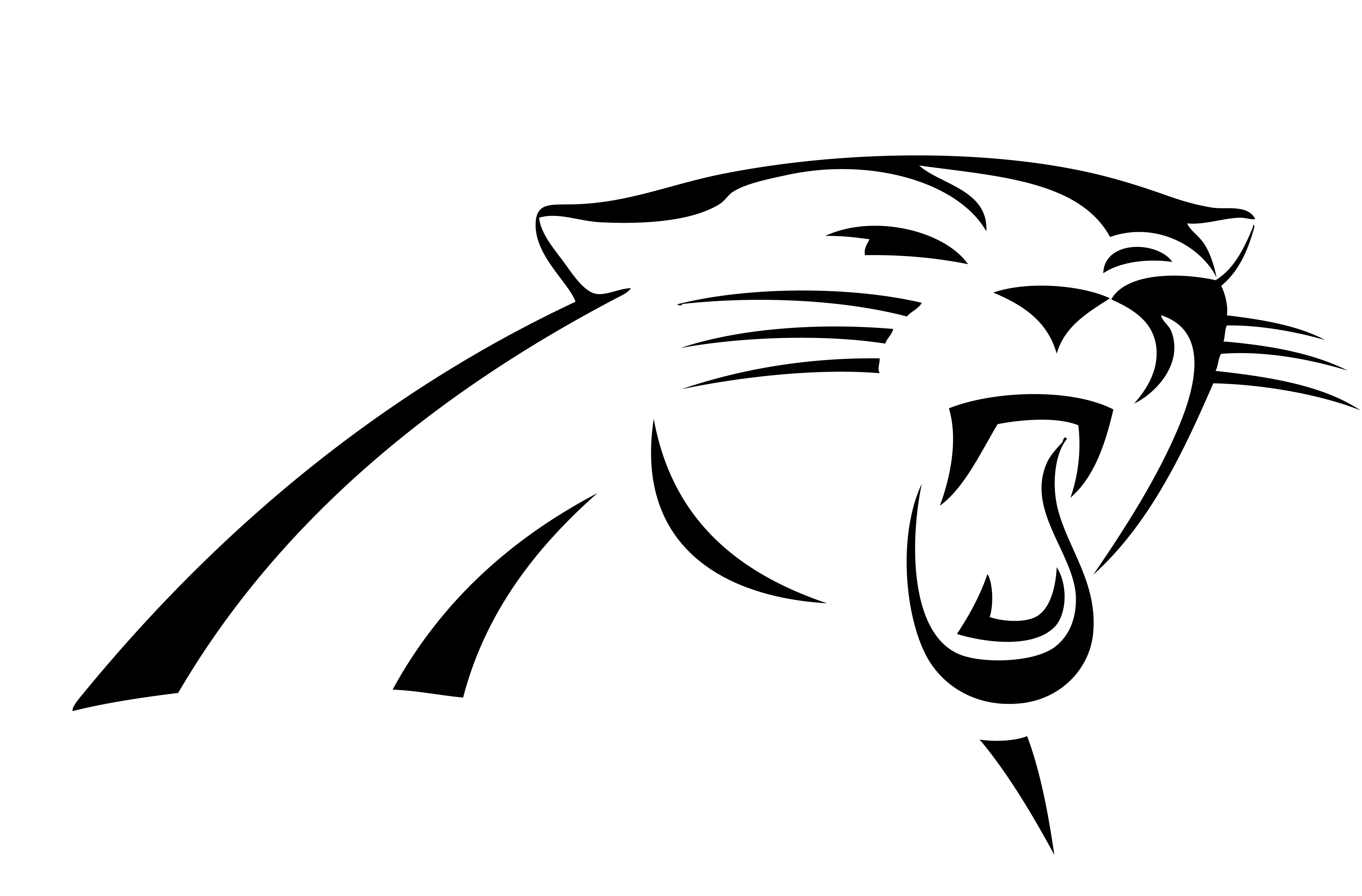 Panthers Silhouette at GetDrawings.com | Free for personal ...
