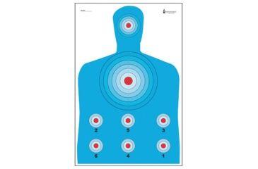 365x240 Law Enforcement Targets Pr Cq1 High Visibility Fluorescent