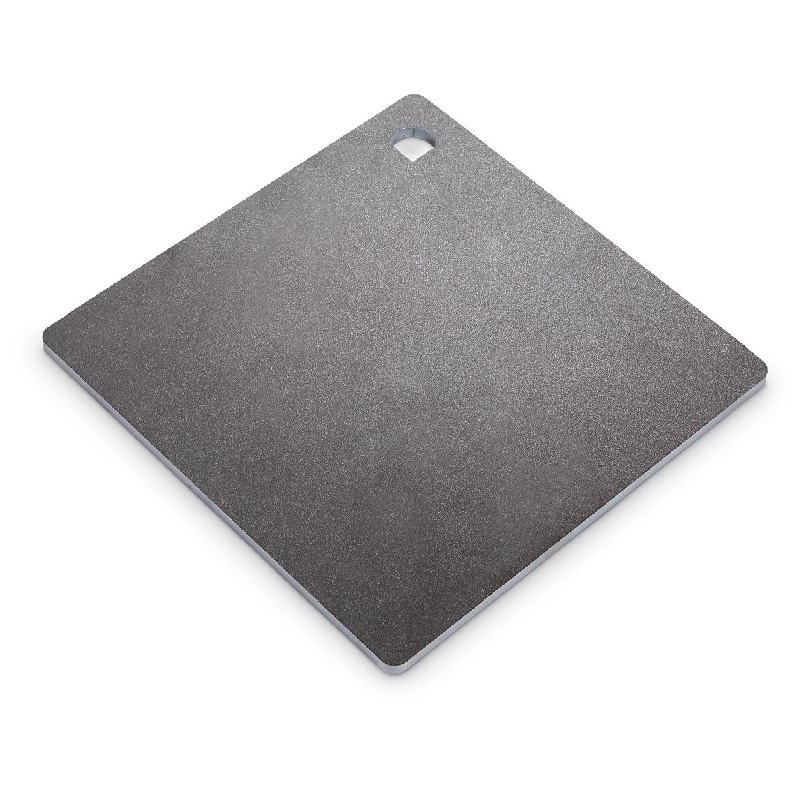 1155x1155 Ar500 Hardened Steel Plate Shooting Target, 10 X 10, 14