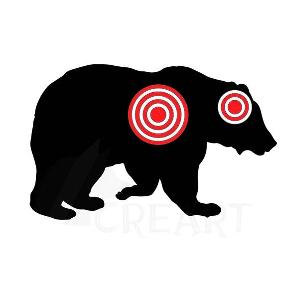 570x570 Animals Silhouette Shooting Target Clipart Pack With 10