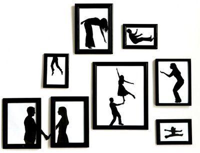 400x306 Paper Silhouette Art Dabndash