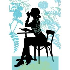 236x236 Silhouette Paper Art By French Artist By Catherine De Seabra