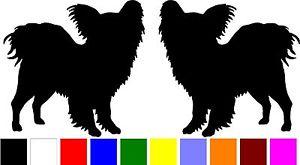 Papillon Dog Silhouette