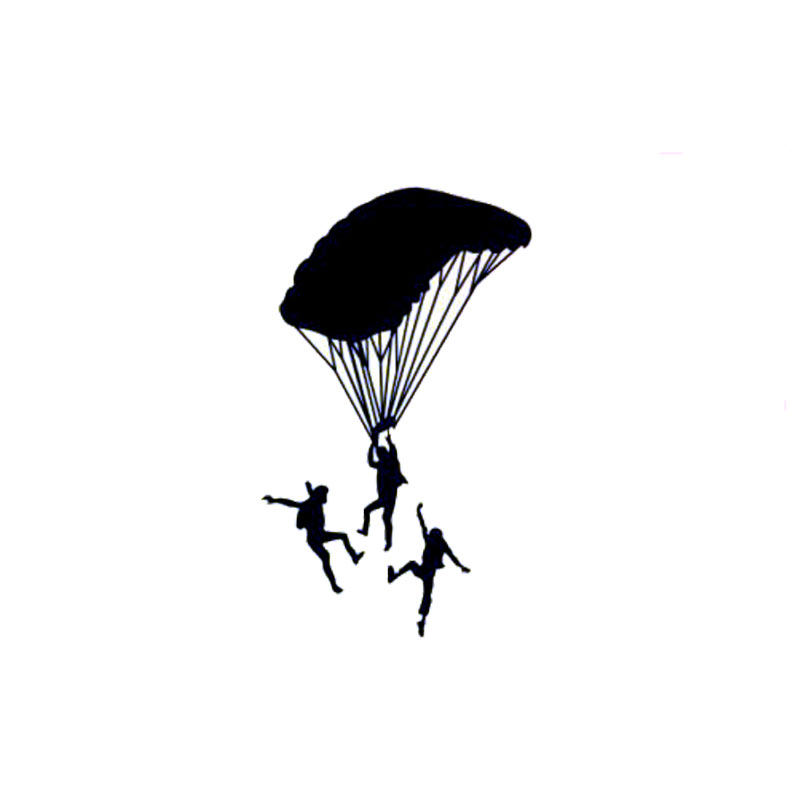 Parachute Silhouette