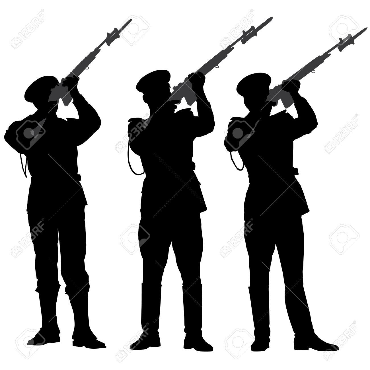 1300x1300 Guard Parade Clipart