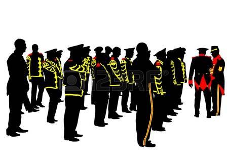 450x318 Military Parade Clipart