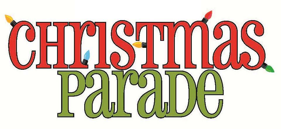 961x442 Christmas Parade Clip Art