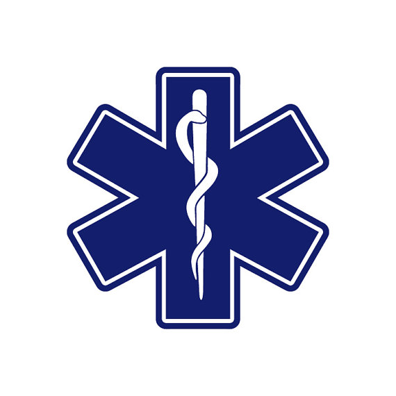 570x570 Ems Medic Symbol Rescue Star Of Life Emergency By Bvstickers