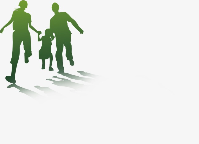 650x470 Family Of Three Silhouette, Sketch, Family, Parents Png Image