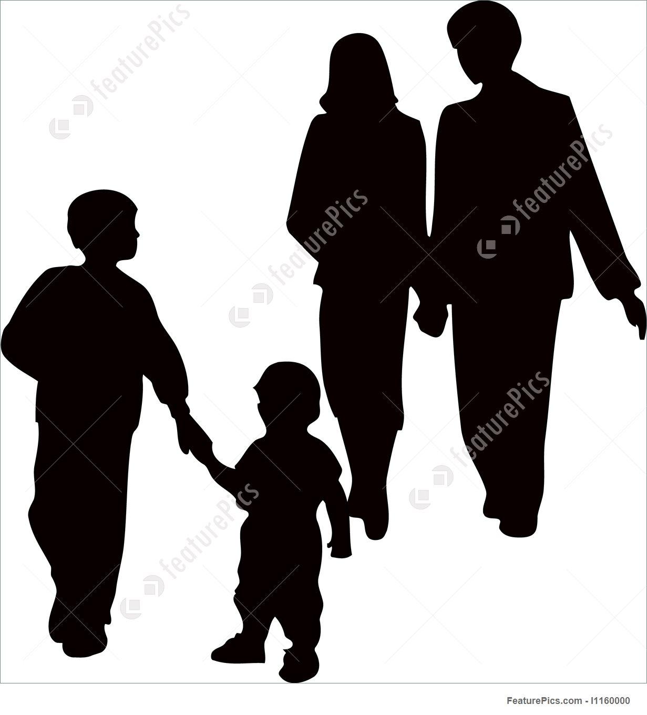 1231x1360 Family Parents Kids Illustration