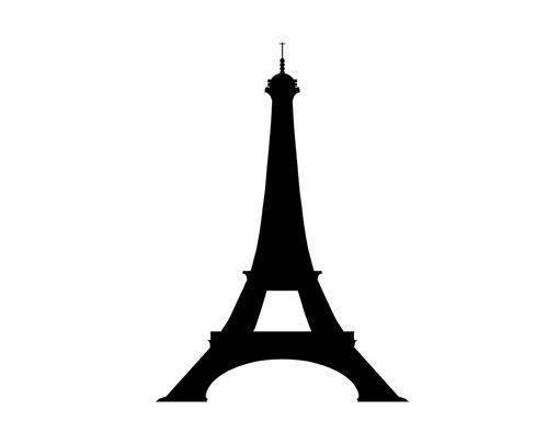 510x405 Paris Eiffel Tower Book Folding Pattern And Free Tutorial