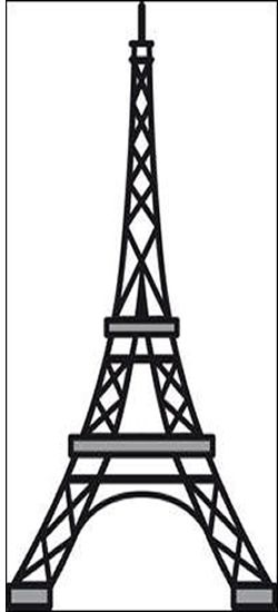 250x550 Eiffel Tower Template Free Eiffel Tower Template Free 100 Images