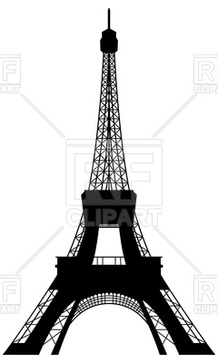 240x400 Eiffel Tower Silhouette