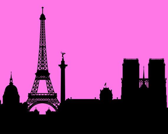 570x456 Paris Svg Paris Skyline Svg Paris Cityscape Svg Paris Shirt Eiffel