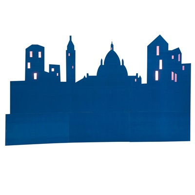400x400 Let's Go Sightseeing Buildings Silhouettes Kit (Set Of 3) Paris